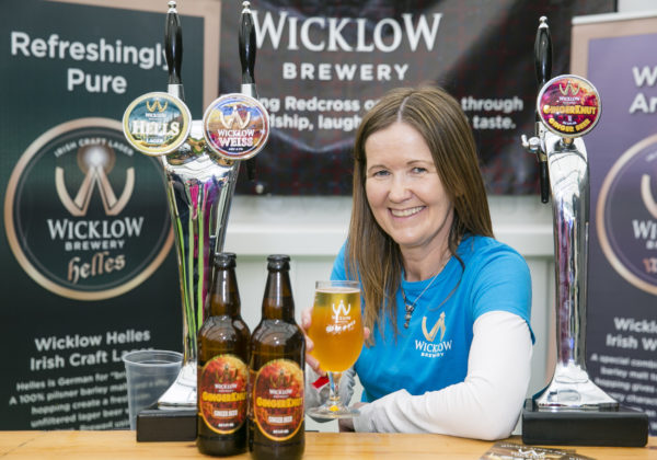 Leigh Williams, Wicklow Brewery launched 'GingerKnut' Ginger Beer which is gluten free and low in alcohol 3.4% at Bord Bia's Bloom 2019 Photo: Johnny Bambury/Fennells