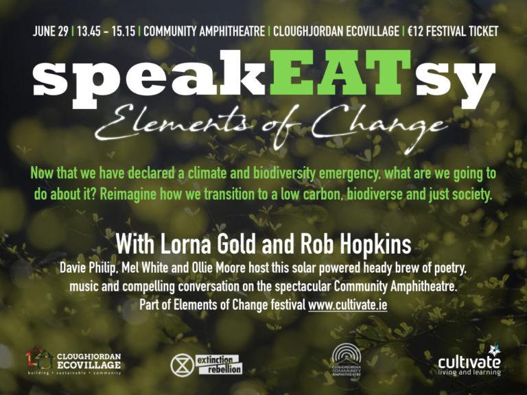 SpeakEATsy: Elements of Change