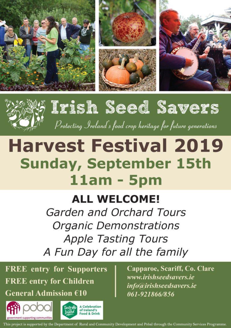 Harvest Festival, Autumn Workshops, Heritage Apple Trees & Life on the Farm